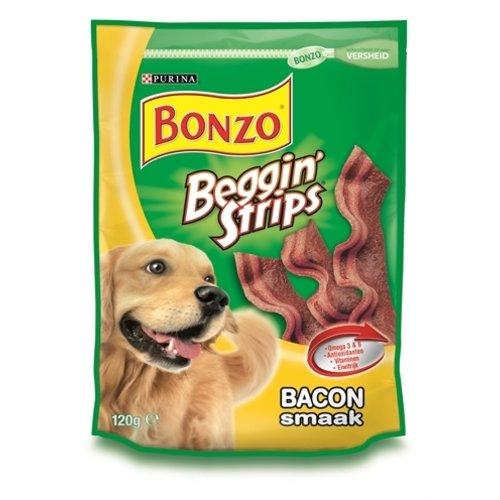 Bonzo 6x bonzo beggin' strips bacon