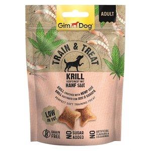 Gimdog Gimdog train & treat krill / hennep
