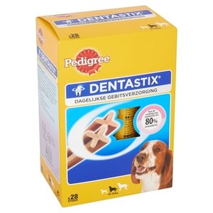 Pedigree 4x pedigree dentastix multipack medium