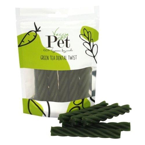 Veggie pet Veggie pet green tea dental twist