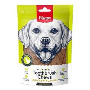 Wanpy Wanpy toothbrush chews chicken flavor