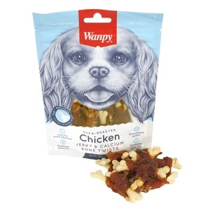 Wanpy Wanpy oven-roasted chicken jerky / calcium bone twists
