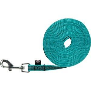 Trixie Trixie hondenriem sleeplijn met rubber turquoise