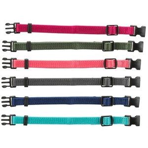 Trixie Trixie puppy halsbandset bruin / beige / grijs / roze / blauw / oranje