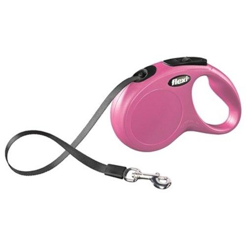 Flexi Flexi rollijn classic tape roze