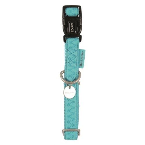 Macleather Macleather halsband blauw