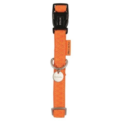Macleather Macleather halsband oranje