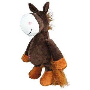 Trixie Trixie pluche paard met dierengeluid