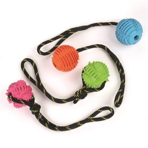 Happy pet Happy pet atomic bal aan touw assorti