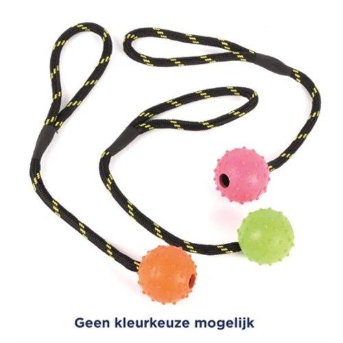 Happy pet Happy pet tough toys rubber bal studded aan
