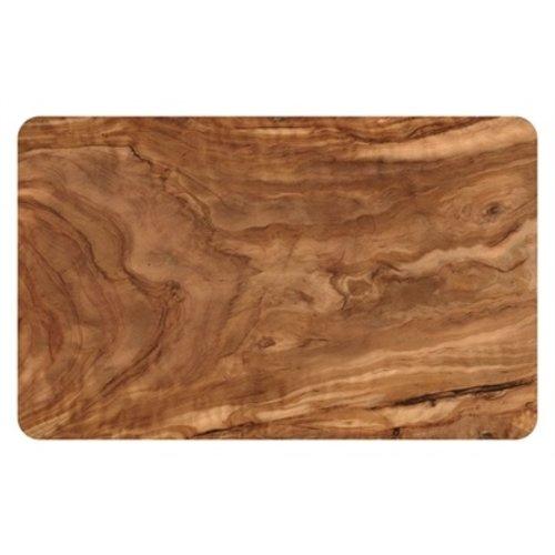 Tarhong Tarhong placemat olive pvc / eva houtprint