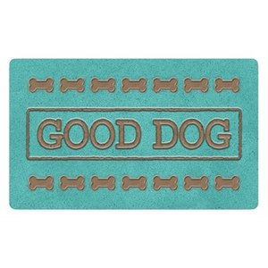 Tarhong Tarhong placemat good dog turquoise