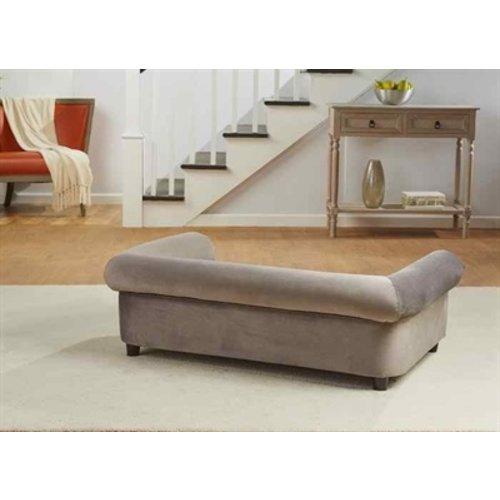 Enchanted pet Enchanted hondenmand / sofa manchester grijs