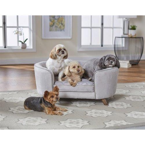 Enchanted pet Enchanted hondenmand / sofa quicksilver zilverkleurig