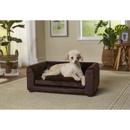 Enchanted pet Enchanted hondenmand / sofa cookie bruin