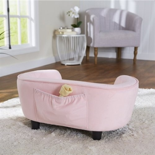 Enchanted pet Enchanted hondenmand / sofa coco roze
