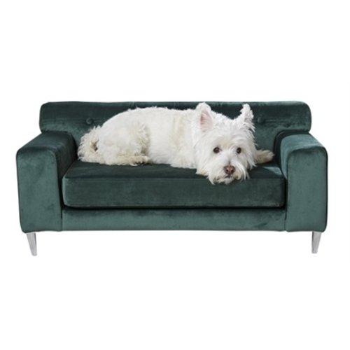 Enchanted pet Enchanted hondenmand / sofa martine emerald groen