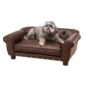 Enchanted pet Enchanted hondenmand / sofa brisbane pebble bruin