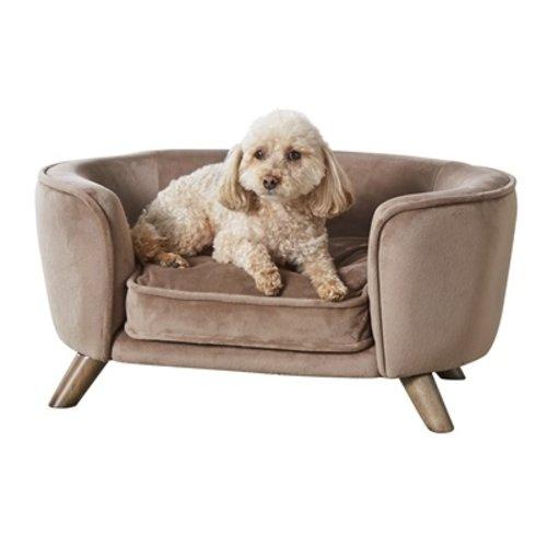 Enchanted pet Enchanted hondenmand / sofa romy stone lichtbruin