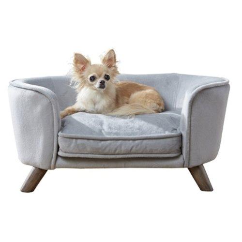 Enchanted pet Enchanted hondenmand / sofa romy grijs