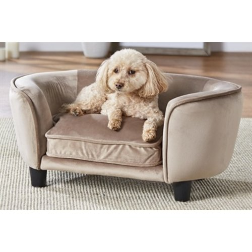 Enchanted pet Enchanted hondenmand / sofa coco stone lichtbruin
