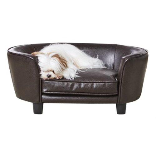 Enchanted pet Enchanted hondenmand / sofa coco pebble bruin