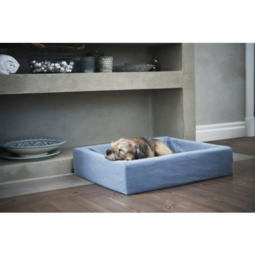 Bia bed Bia bed cotton overtrek hondenmand blauw