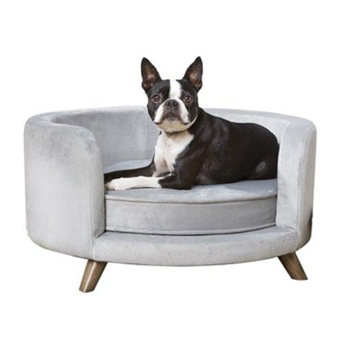 Enchanted pet Enchanted hondenmand sofa rosie grijs