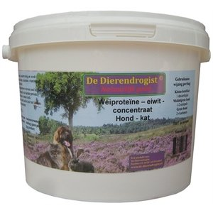 Dierendrogist Dierendrogist wei proteine eiwit concentraat hond/kat