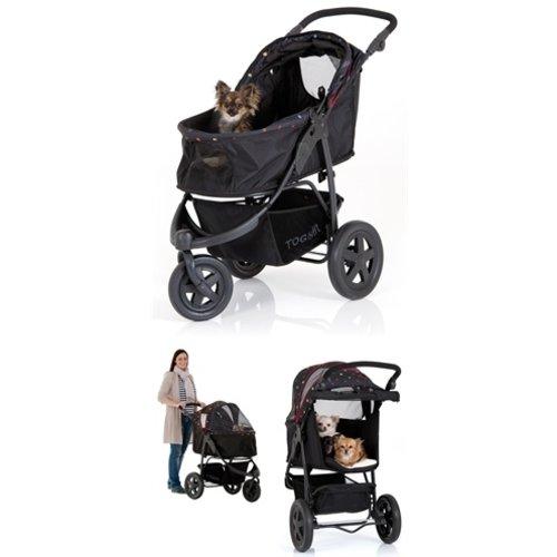 Tog fit Tog fit pet roadster hondenbuggy zwart