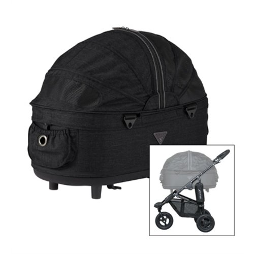 Airbuggy Airbuggy hondenbuggy dome2 m met rem earth zwart