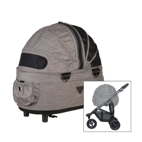 Airbuggy Airbuggy hondenbuggy dome2 sm met rem earth bruin