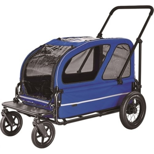 Airbuggy Airbuggy hondenbuggy carriage royal blauw