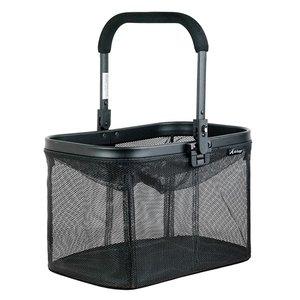 Airbuggy Airbuggy multi basket hondenbuggy mesh zwart