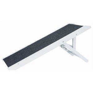 Trixie Trixie loopplank in hoogte verstelbaar wit