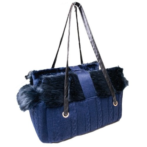 Croci Croci hondentas fluffy blauw