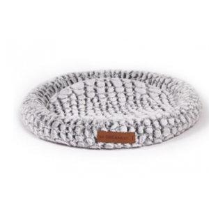 M-Pets M-Pets hondenmat snake 50 x 55 cm polyester grijs