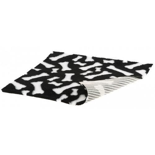 Ferplast Ferplast dierenmat Plaza 50 x 75 cm polyester zwart