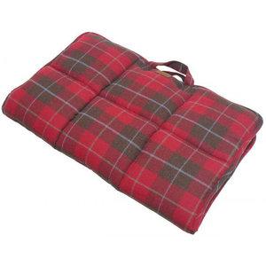 Joules Joules hondenreismat Heritage 91 x 68 cm polyester/fleece rood