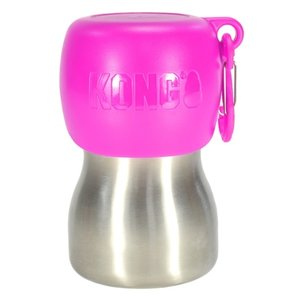 Kong Kong h2o drinkfles rvs roze