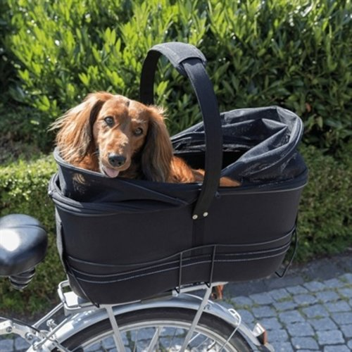 Trixie Trixie fietsmand bagage drager breed zwart