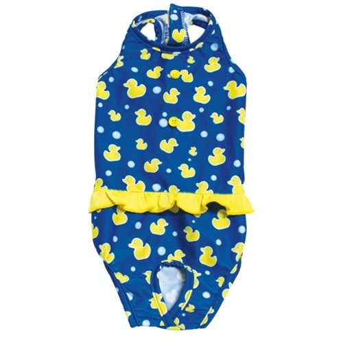 Croci Croci zwempak moby duck blauw / geel