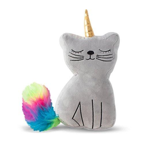 Fringe Unicorn Kat zittend - Hondenknuffel