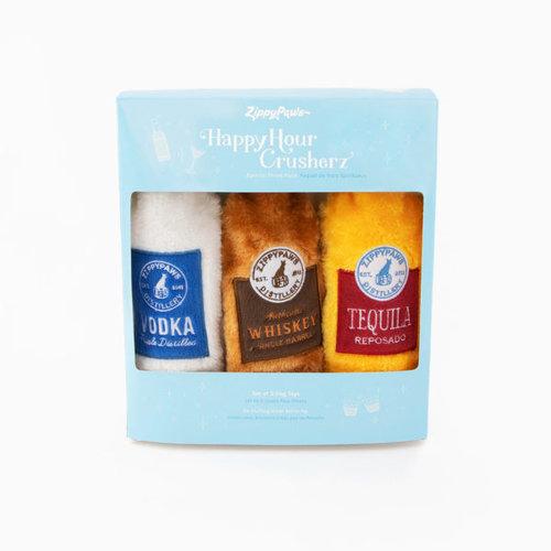 Hondenhappiness Happy Hour Crusherz – Spirits Three Pack