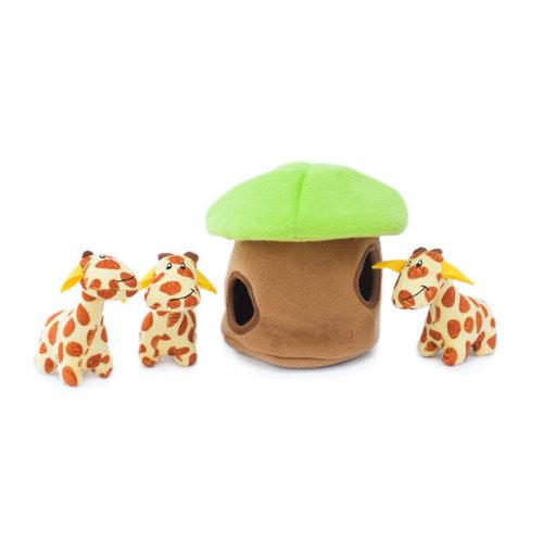 Zippy Burrow Zippy Burrow – Giraffe Lodge - Hondenknuffel