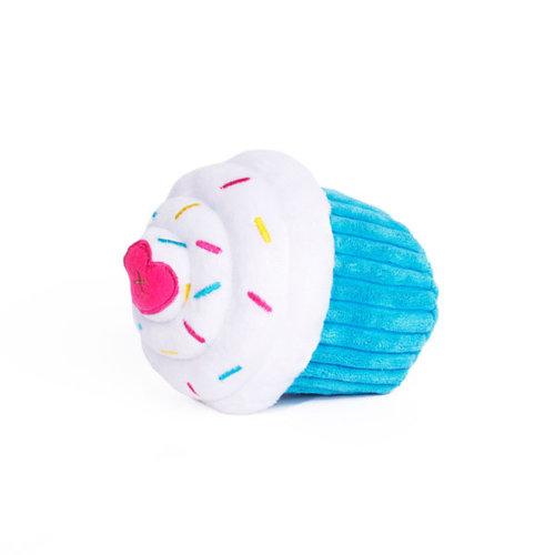 Cup Cake Blauw - Hondenknuffel