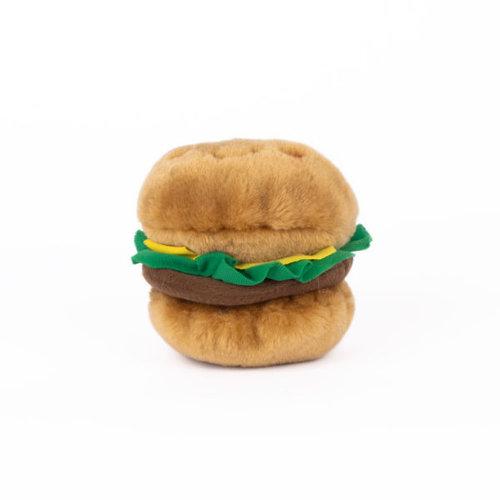 Nomnomz NomNomz Hamburger- Hondenknuffel