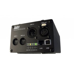 LanBox® LCX stand alone DMX controller with ethernet, GPIO, MIDI, usb and more!