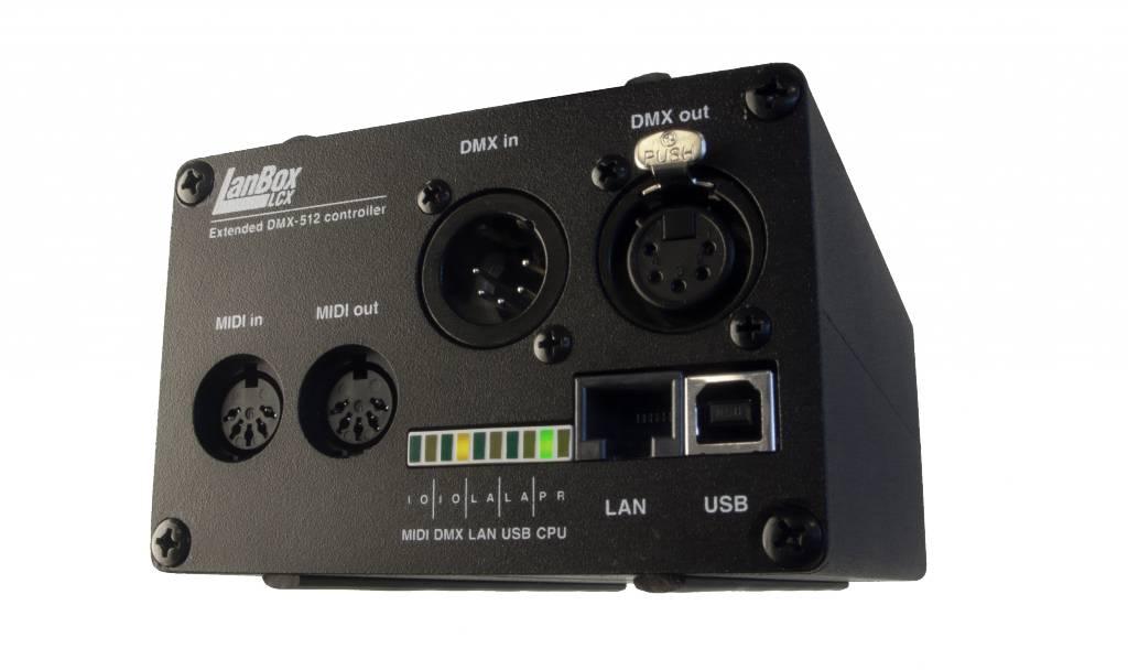 LanBox® LanBox-LCX standalone DMX controller - LanBox® Shop