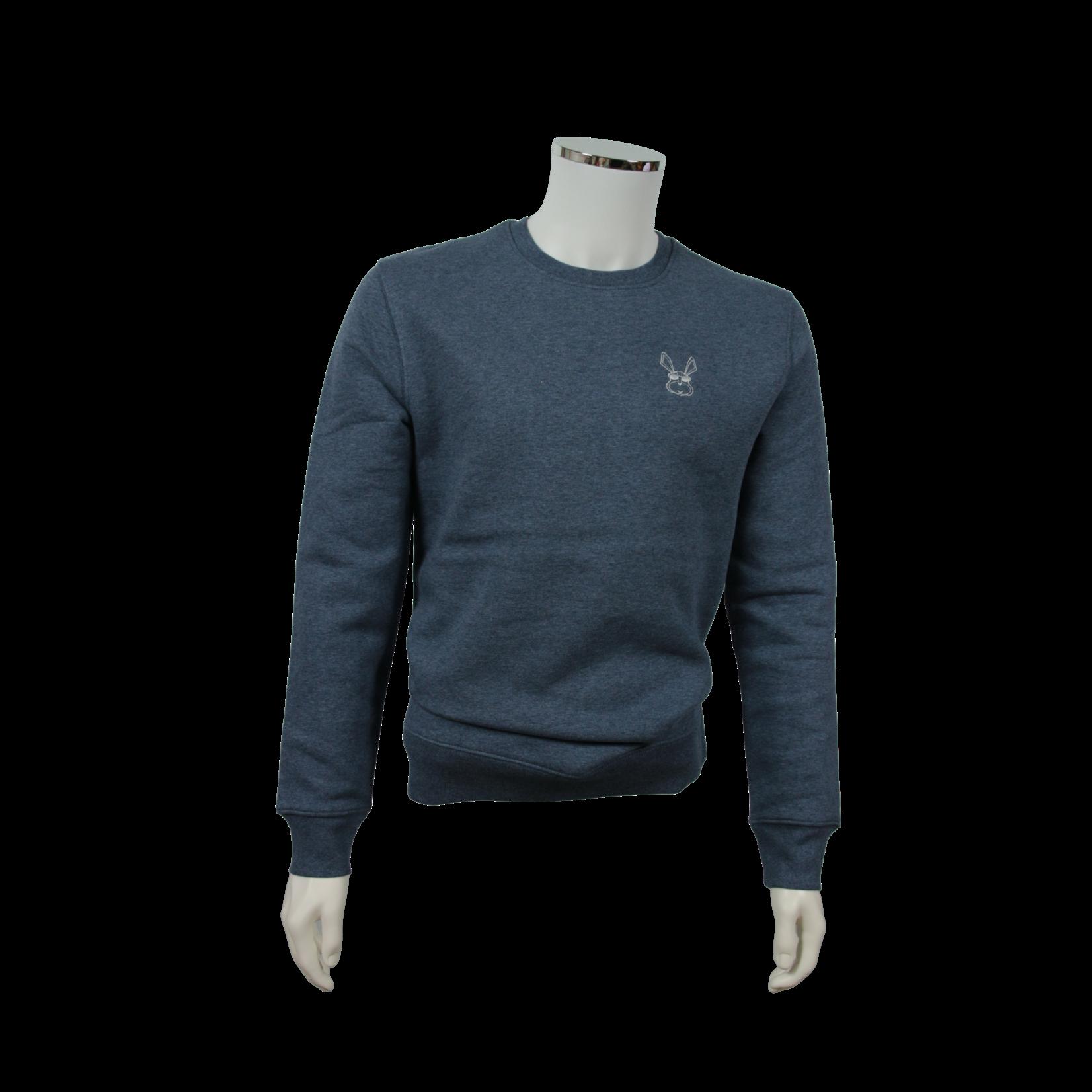 The Cool Rabbit Essentials High Star Sweater Mens Dark Blue